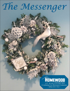 Homewood at Martinsburg's Messenger Winter 2018 cover art